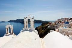 Vista di Santorini Fotografia Stock Libera da Diritti