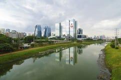 Vista di Sao Paulo fotografie stock