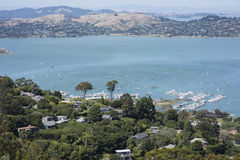Vista di Sausalito Fotografia Stock