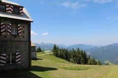 Vista di Schafberg Fotografie Stock Libere da Diritti