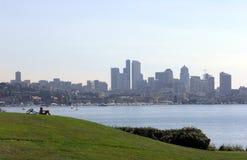 Vista di Seattle Fotografia Stock Libera da Diritti