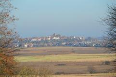 Vista di segale, Sussex orientale Regno Unito Immagini Stock Libere da Diritti
