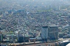 Vista di Seoul da 63 che costruiscono Fotografia Stock
