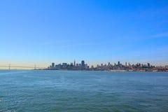 Vista di SF Immagini Stock