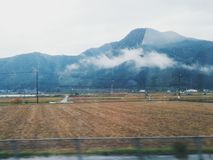 Vista di Shinkansen Fotografie Stock
