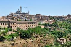 Vista di Siena immagine stock libera da diritti