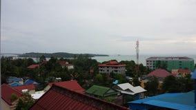 Vista di Sihanoukville Fotografie Stock Libere da Diritti