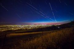 Vista di Silicon Valley Fotografia Stock Libera da Diritti