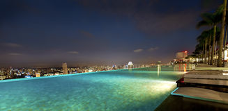 Vista di Singapore Fotografia Stock Libera da Diritti