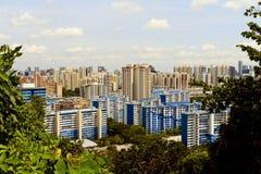 Vista di Singapore Fotografia Stock