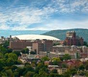 Vista di Siracusa, New York Fotografia Stock