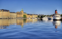 Vista di Stoccolma. fotografia stock libera da diritti