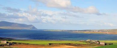 Vista di Stromness. Immagini Stock Libere da Diritti