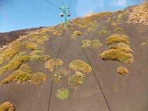 Vista di stupore, Etna fotografia stock libera da diritti