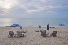 Vista di vista sul mare dell'isola di Samui, Tailandia Immagine Stock Libera da Diritti
