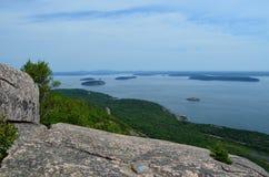 Vista di Summitt Fotografia Stock