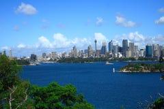 Vista di Sydney. Immagini Stock