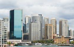Vista di Sydney a mezzogiorno fotografia stock libera da diritti