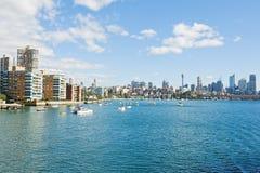 Vista di Sydney a mezzogiorno fotografie stock