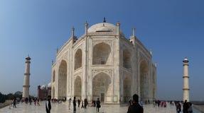 Vista di Taj Mahal Fotografie Stock