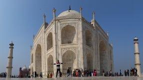 Vista di Taj Mahal Immagini Stock