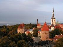 Vista di Tallinn immagini stock libere da diritti