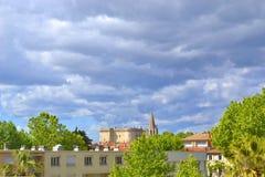 Vista di Tarascon Fotografia Stock