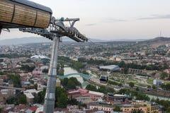 Vista di Tbilisi Fotografia Stock
