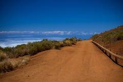 Vista di Tenerife Fotografie Stock Libere da Diritti