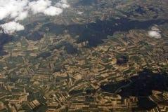 Vista di terra Immagine Stock