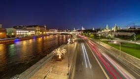 Vista di Timelapse del punto di riferimento di Mosca archivi video