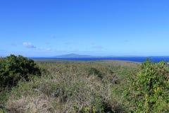 Vista di Tinian dal lazo del supporto Fotografia Stock