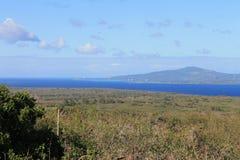 Vista di Tinian dal lazo 2 del supporto Fotografia Stock Libera da Diritti