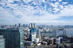 Vista di Tokyo dal centro di commercio mondiale Fotografie Stock