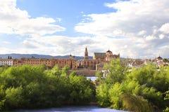Vista di Toledo, Spagna Fotografia Stock Libera da Diritti