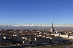 Vista di Torino Immagine Stock