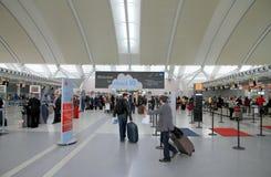 Vista di Toronto Pearson Airport immagine stock libera da diritti