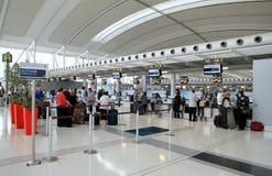 Vista di Toronto Pearson Airport fotografia stock