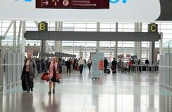 Vista di Toronto Pearson Airport immagini stock libere da diritti