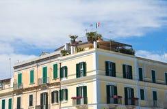 Vista di Trani La Puglia L'Italia Fotografie Stock