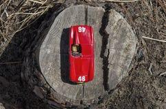 Vista di un'automobile sportiva Fotografie Stock Libere da Diritti