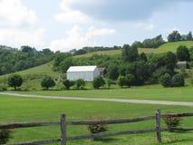 Vista di un'azienda agricola della Pensilvania Immagine Stock