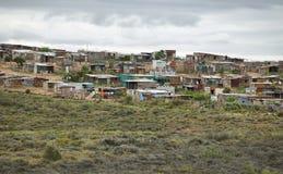Vista di un distretto nel Sudafrica Immagini Stock Libere da Diritti