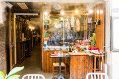 Vista di un ristorante IL Paiolo al tramite via di del Corso nella Florida immagini stock libere da diritti