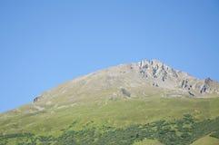 Vista di una collina in Italia fotografia stock