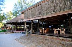 Vista di una località di soggiorno in Tailandia Immagini Stock