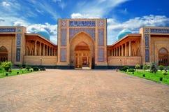 Vista di una moschea fotografie stock libere da diritti
