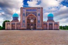 Vista di una moschea fotografia stock libera da diritti