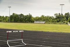 Vista di uno stadio di sport Immagine Stock
