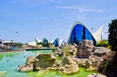 Vista di Valencia fotografie stock libere da diritti